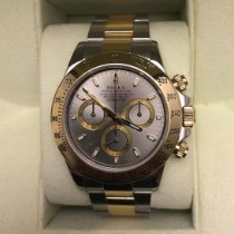 Rolex Daytona Gold/Steel 40mm Grey No numerals