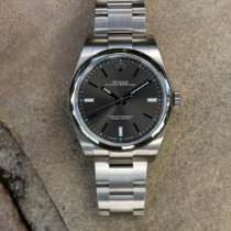 Rolex Oyster Perpetual 39 Steel 39mm Grey No numerals United States of America, Florida, Orlando