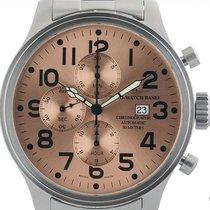 Zeno-Watch Basel Stahl 47mm Automatik 8557 gebraucht Deutschland, Stuttgart
