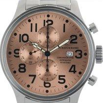 Zeno-Watch Basel Stahl 47mm Automatik 8557 gebraucht