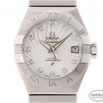 Omega Constellation Ladies neu Automatik Uhr mit Original-Box und Original-Papieren 123.10.27.20.55.001