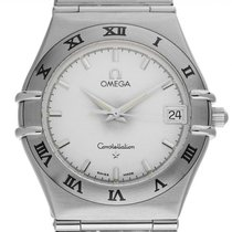 Omega Constellation Quartz Сталь 35mm Cеребро