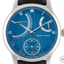 Maurice Lacroix Masterpiece neu Automatik Uhr mit Original-Box und Original-Papieren MP6508-SS001-330