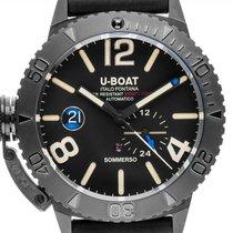 U-Boat Classico Сталь 46mm Чёрный Aрабские