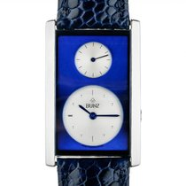 Bunz new Quartz Small seconds Tempered blue hands 42mm Steel Sapphire crystal