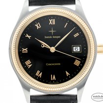 Chronoswiss Pacific Gold/Steel 38mm Black Roman numerals