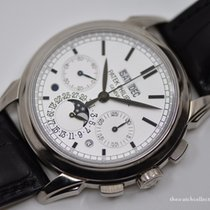 Patek Philippe Chronographe Argent 41mm occasion Perpetual Calendar Chronograph