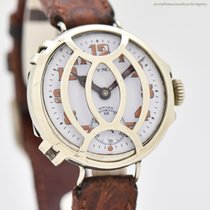 Cyma pre-owned Manual winding 34mm White