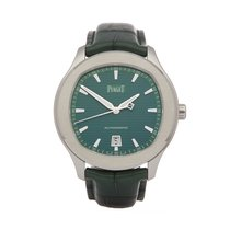 Piaget Polo S Staal 42mm Groen