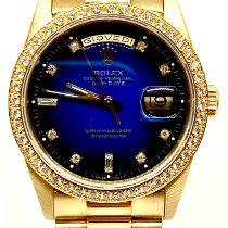 Rolex Day-Date Zuto zlato 36mm Zlatan Bez brojeva