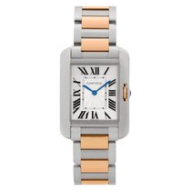 Cartier Tank Anglaise Steel 26mm Silver Roman numerals United States of America, Florida, Surfside