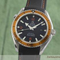 Omega Seamaster Planet Ocean Stål 45.5mm Sort