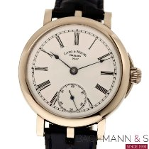 Lang & Heyne White gold 44mm Manual winding pre-owned