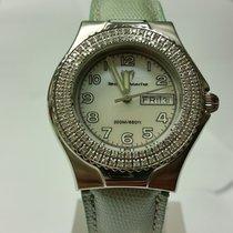 Technomarine TechnoDiamond Steel 38mm Mother of pearl Arabic numerals