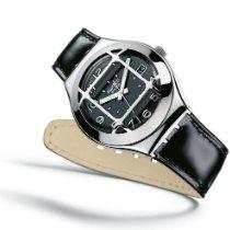 Swatch Steel Quartz Black Arabic numerals 37.4mm new