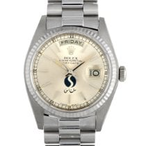 Rolex 18039 White gold Day-Date 36 36mm pre-owned United States of America, Pennsylvania, Southampton