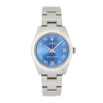 Rolex Oyster Perpetual 31 Steel 31mm Blue Roman numerals