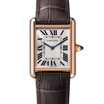 Cartier Tank Louis Cartier Rose gold 26mm Silver Roman numerals United States of America, New York, New York