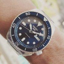 Seiko 5 Sports Steel 42mm Blue No numerals