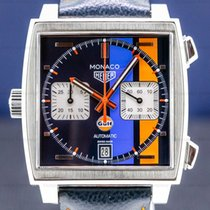 TAG Heuer Monaco Calibre 11 Steel 38mm Blue
