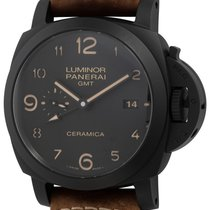 Panerai Luminor 1950 3 Days GMT Automatic Ceramic 44mm Black Arabic numerals United States of America, Texas, Austin