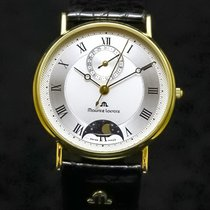 Maurice Lacroix Yellow gold 34mm Quartz 05877 pre-owned