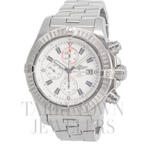 Breitling Super Avenger Steel 49mm White United States of America, New York, Hartsdale