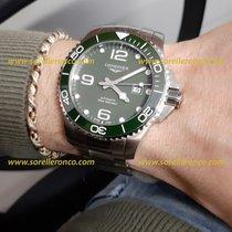 Longines HydroConquest L37824066 Longines Hydroconquest Verde Acciaio 43mm Auto 2020 new