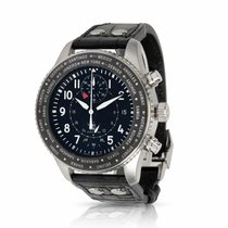 IWC Pilot Chronograph Steel 46mm Black Arabic numerals United States of America, New York, New York