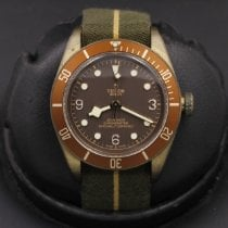 Tudor Bronze Brown 43mm pre-owned Black Bay Bronze