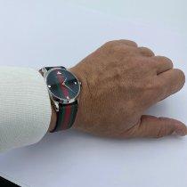 Gucci Stål 38mm Kvarts Reloj G-Timeless, 38 mm YA1264079 ny