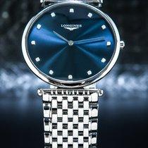 Longines La Grande Classique Сталь 37mm Синий Римские