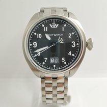 Philip Watch Steel 43mm Quartz 8253104025 new