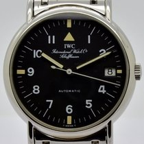 IWC Portofino (submodel) Steel 34mm Black Arabic numerals