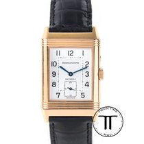 Jaeger-LeCoultre Or rose 42mm Remontage manuel reverso duo occasion