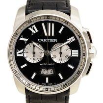 Cartier Calibre de Cartier Chronograph Zeljezo 42mm Crn