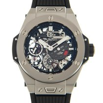 Hublot Big Bang Meca-10 nuevo Cuerda manual Reloj con estuche y documentos originales 414.NI.1123.RX