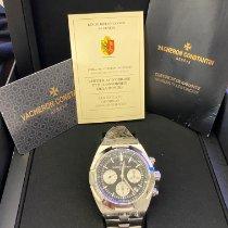 Vacheron Constantin Overseas Chronograph Zeljezo 42.5mm Crn Bez brojeva