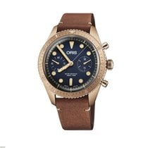 Oris Carl Brashear new 2020 Automatic Chronograph Watch with original box and original papers 01 771 7744 3185-Set LS