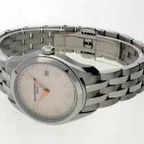 Baume & Mercier Clifton Steel 30mm Silver Arabic numerals