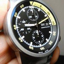 IWC Aquatimer Chronograph Titan 42mm Černá