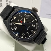 IWC Big Pilot Top Gun Ceramica 48mm Negru Arabic