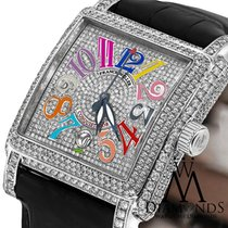 Franck Muller Conquistador Cortez 10000 H SC Very good Steel 41mm Automatic