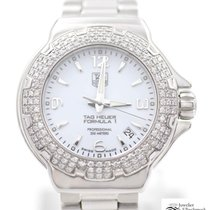 TAG Heuer Formula 1 Lady Steel 39mm White