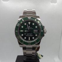 Rolex Submariner Date Acciaio 40mm Verde Senza numeri Italia, Fidenza