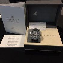 Louis Erard pre-owned Automatic Grey Sapphire crystal 5 ATM