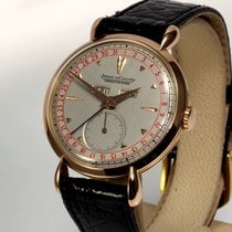 Jaeger-LeCoultre Or rose 36mm Remontage manuel occasion