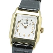 Alfred Dunhill Yellow gold 25mm Manual winding DU1934AS pre-owned