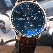 IWC Portugieser Chronograph neu 2020 Automatik Chronograph Uhr mit Original-Box und Original-Papieren IW371606