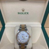 Rolex Datejust Acero y oro 36mm Blanco